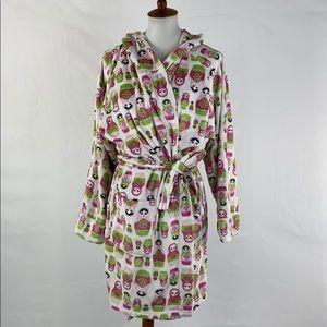 Thro Nesting Doll Bath Robe, Small/Medium